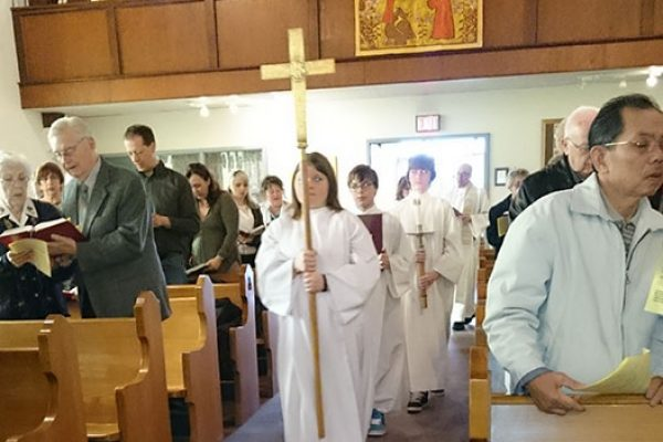 Confirmation procession