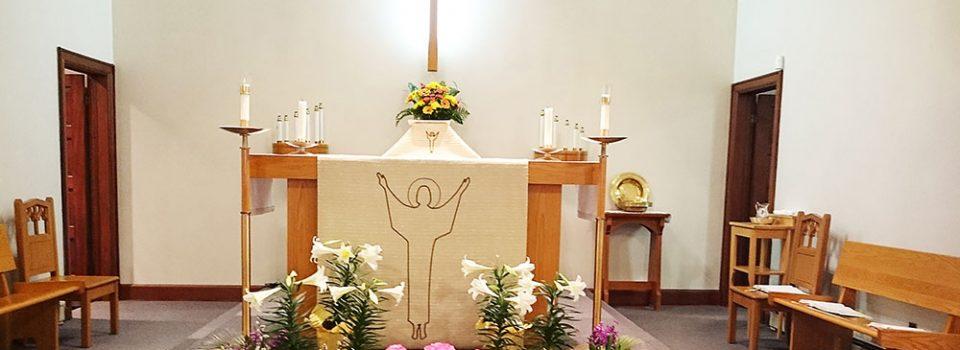 Altar at Faith Lutheran Church