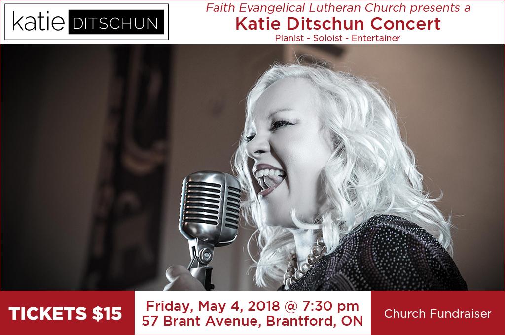Katie Ditschun May 4, 2018 concert