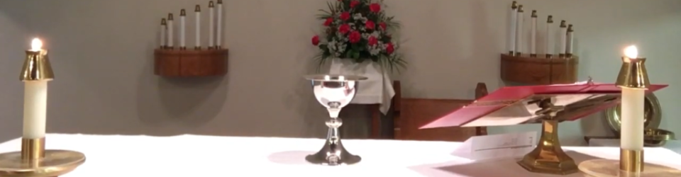 Online Communion Liturgy -October 26, 2020