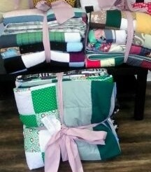 Blankets donated to St Leonards Community Services